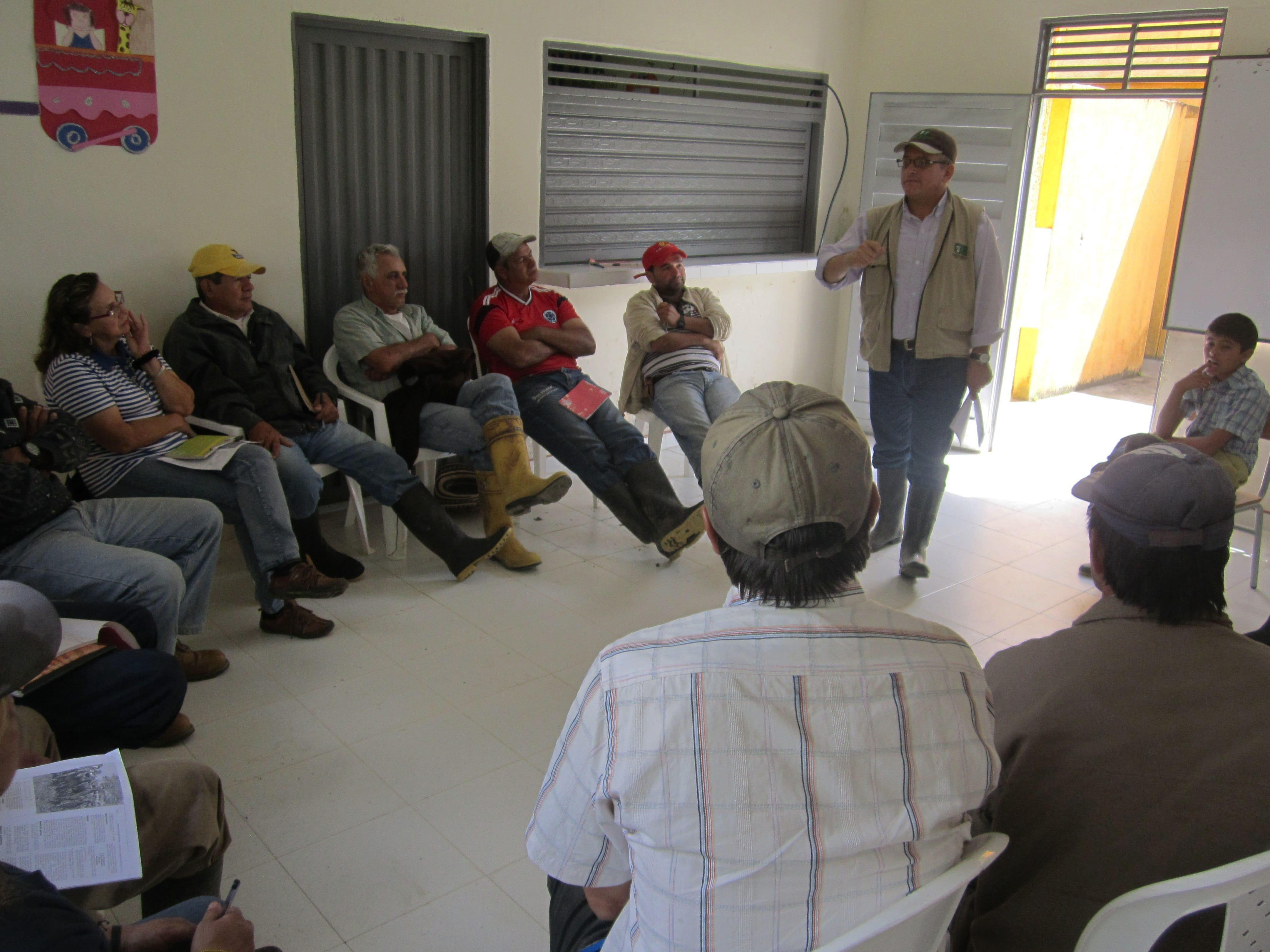 Trasferencia de tecnología - Comité de ganaderos del Huila