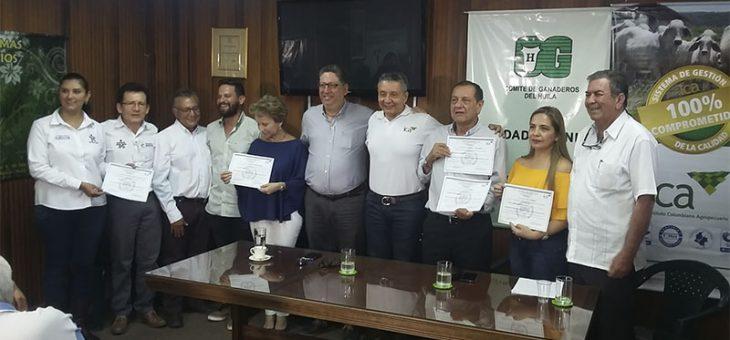 El ICA certifica 5 predios del departamento del Huila en Buenas Prácticas ganaderas